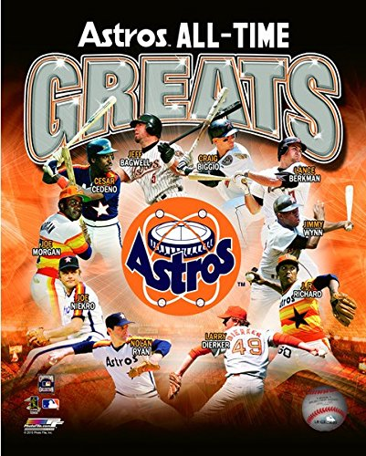 Houston Astros All Time Greats Mlb Composite Photo