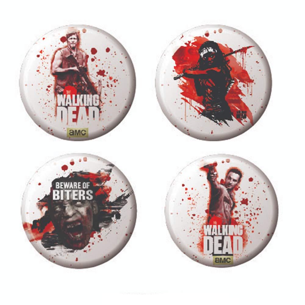 Botones oficiales AMC The Walking Dead de 3,17 cm de diámetro: Amazon.es: Hogar