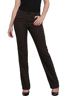 Women/'s straight leg Business Office style work school Trousers  Sizes UK 8-16