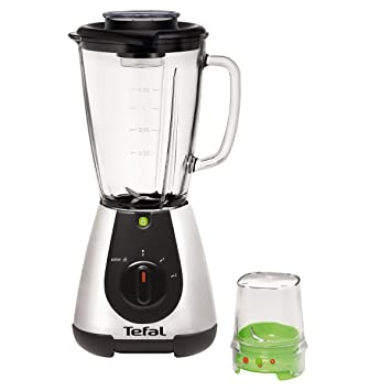 Tefal - bl315e01 - Licuadora 1,75L 500 W + Mini picadora Faciclic Glass Equinox: Amazon.es: Hogar