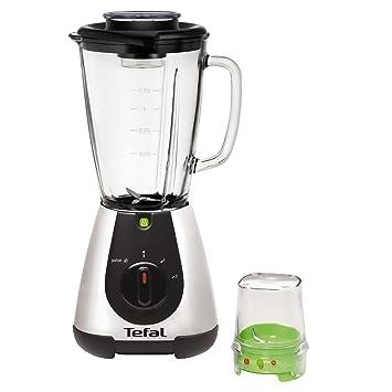 Tefal - bl315e01 - Licuadora 1,75L 500 W + Mini picadora Faciclic Glass Equinox: Amazon.es: Hogar