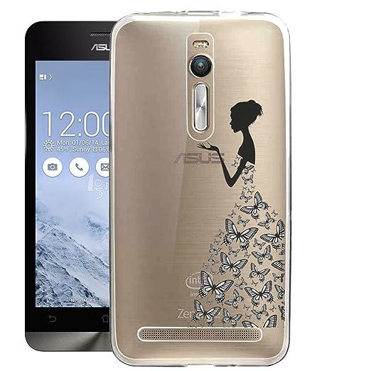 30 opinioni per Custodia per Asus ZenFone 2 5.5'' ZE551ML, ocketcase Morbido Flessibile TPU Gel