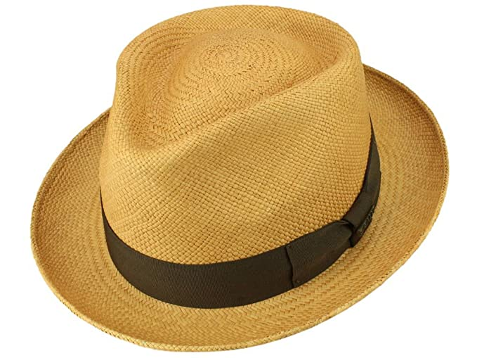 Image Unavailable. Image not available for. Colour  Bigalli Men s Trilby Hat  Quickstep brown f16ca2789bfc