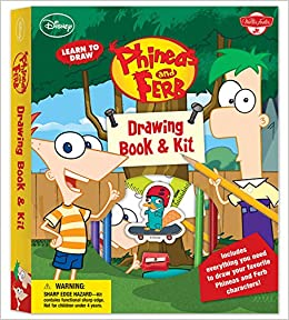Learn To Draw Disney S Phineas And Ferb Drawing Book Kit Includes Everything You Need To Draw Candace Agent P And Your Other Favorite Characters From The Hit Show Licensed Learn To
