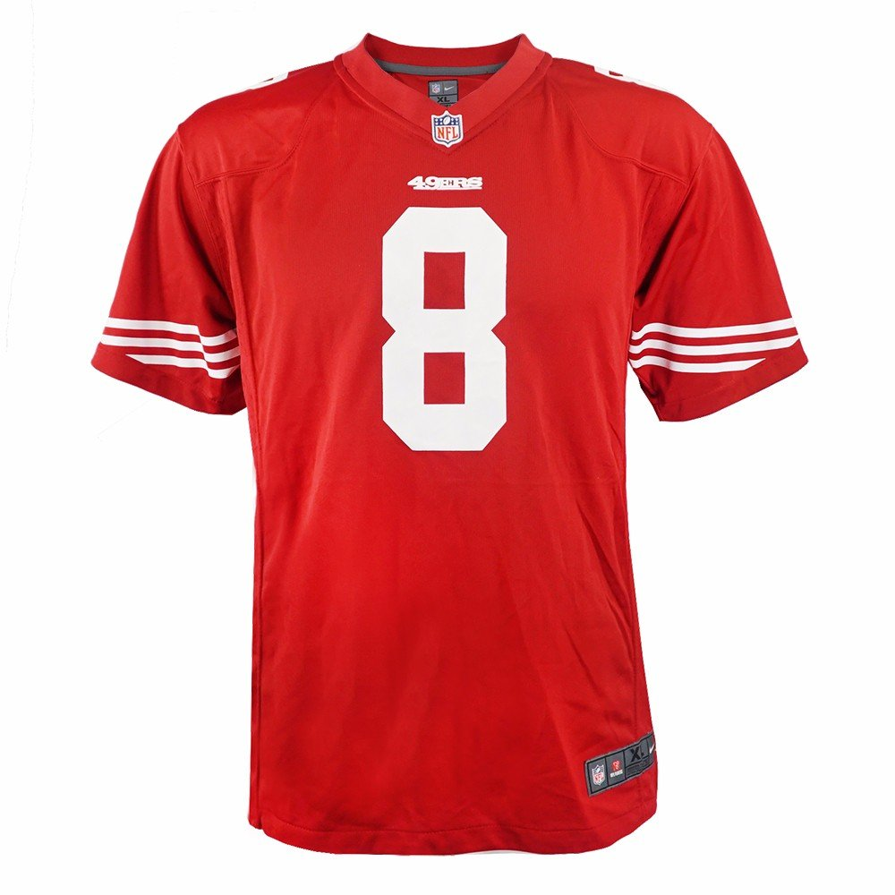 79c73198 Nike Steve Young San Francisco 49ers NFL Red Game Team Jersey for Youth