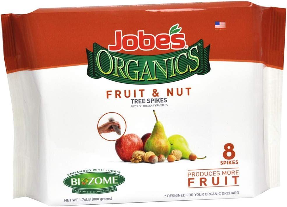 Jobe's 01213 Spike Fruit/Nut Organic 8Pk, 8