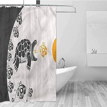 Children S Bathroom Shower Curtains.Amazon Com Hccjlcks Children S Bathroom Shower Curtain