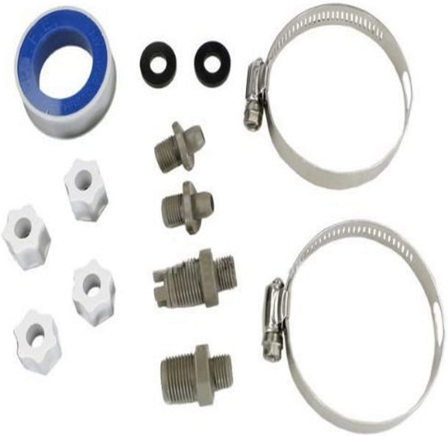 Hayward CLX220PAK Accessory Pack Replacement for Hayward Chlorine and Bromine Chemical Feeder