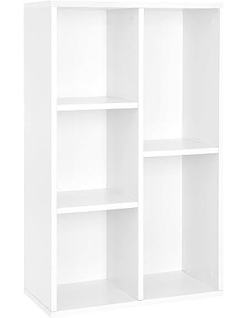 Mobili E Scaffalature Per Ufficio.Amazon It Librerie Soggiorno Casa E Cucina