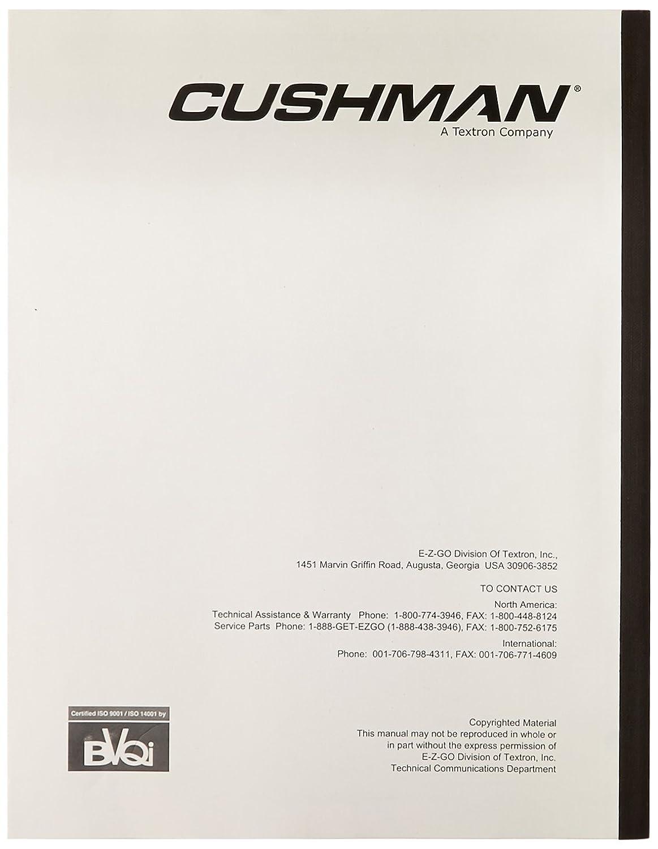 Amazon.com : EZGO 605878 2005 Service Parts Manual for Cushman Titan  Utility Vehicle : Outdoor Decorative Fences : Garden & Outdoor