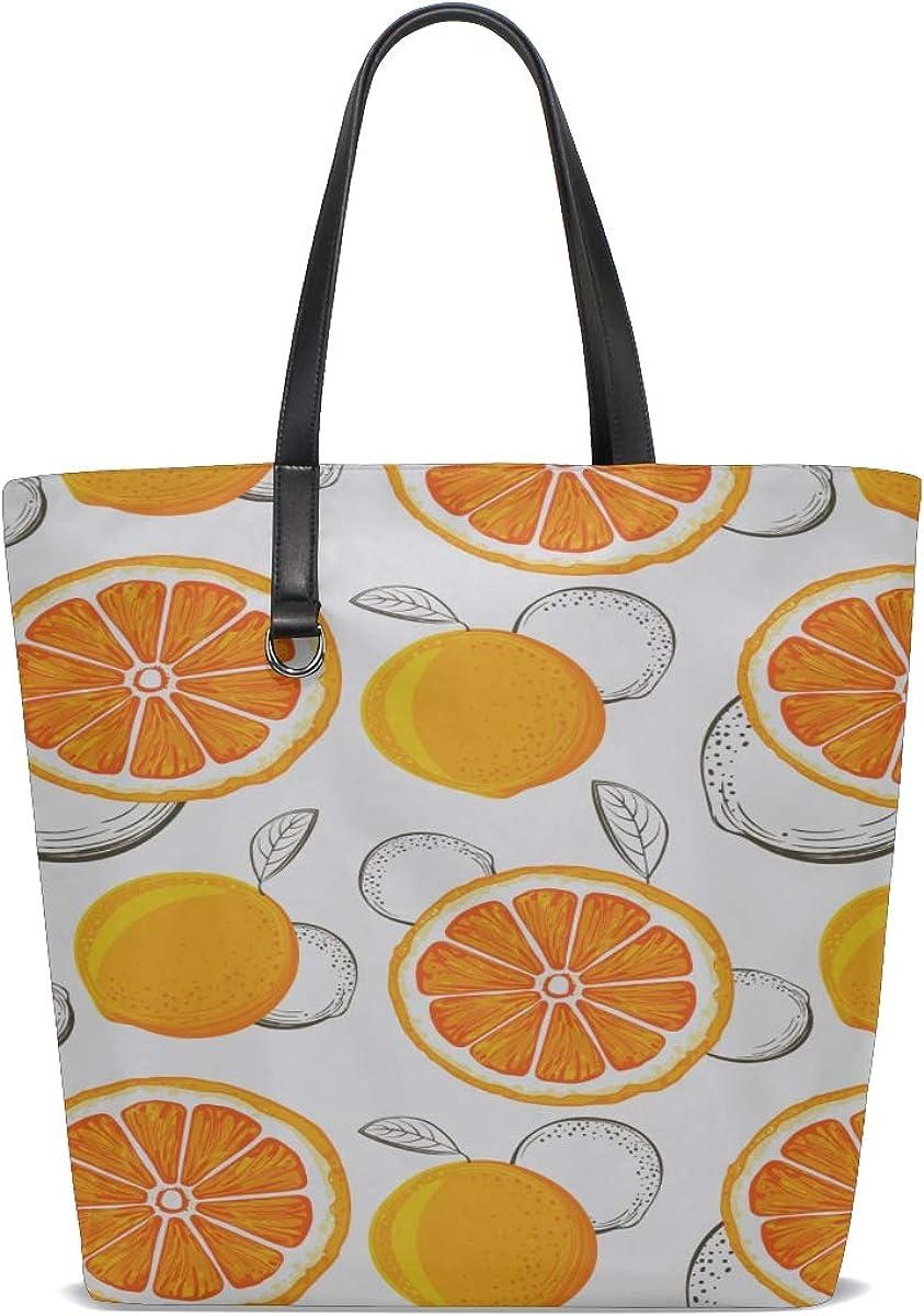Mens Over Shoulder Bag Handle Satchel Books Tote Bag For Women Purse Messenger Bags Cute Shoulder Bag Grapefruit Sketch Grapefruites Citrus Printing Kids Tote Bag