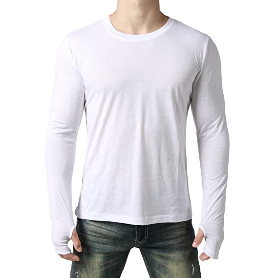 ALIKEEY La Personalidad De Hombres Camiseta De Manga Larga Superior Guantes Calentadores De Piernas De Los