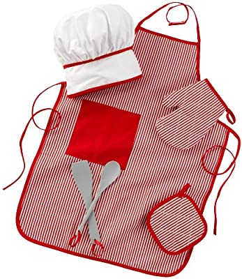 KidKraft Tasty Treats Chef Accessory Set - Red