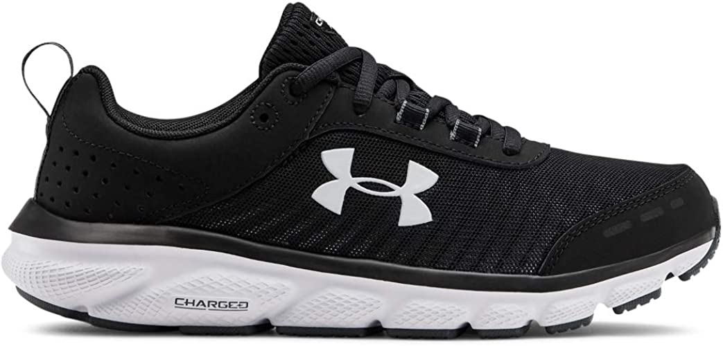 womens black under armour sneakers