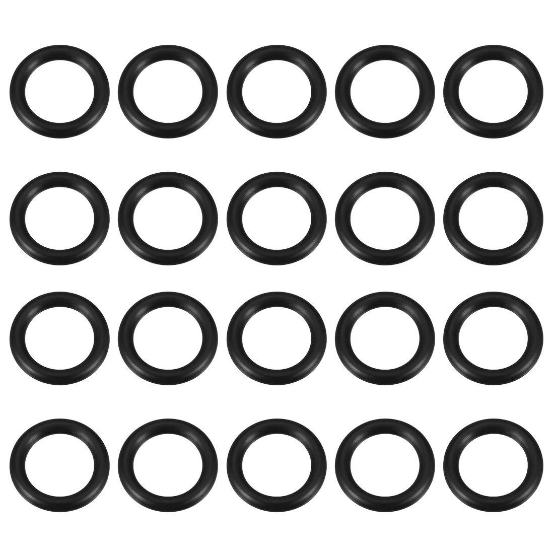 22mm Inner Diameter uxcell O-Rings Nitrile Rubber Gasket 29mm OD 20pcs 3.5mm Width