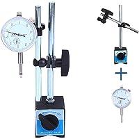 Yonntech Reloj comparador métrico Indicador de prueba