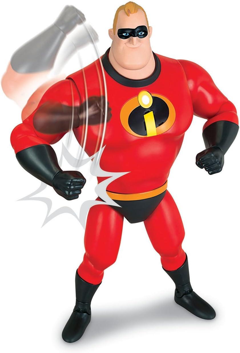 MTW Toys 00381 ca 33 cm Incredible mit Sound Mr Disney Pixar Incredibles 2 Interaktive Actionfigur