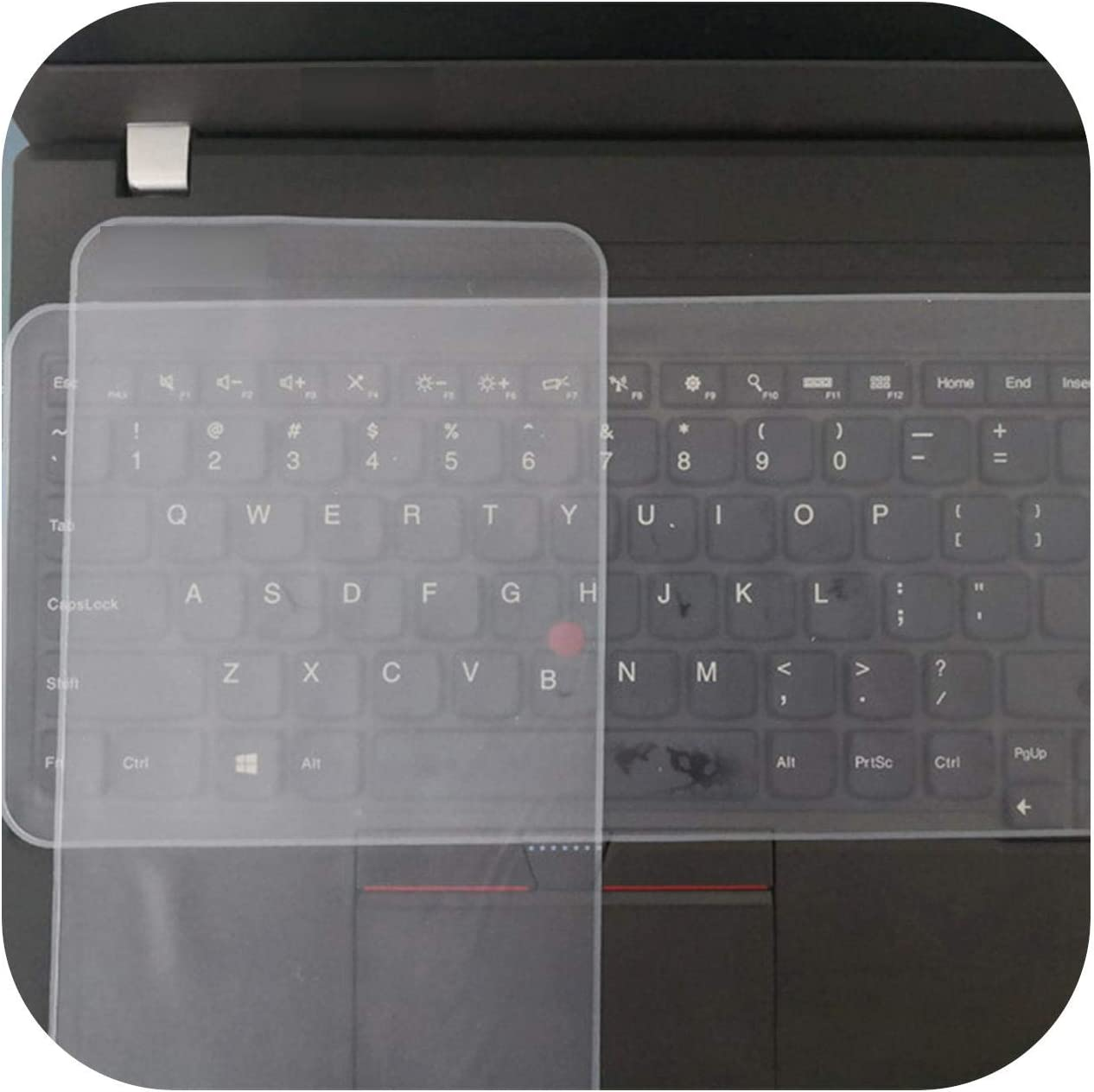 Silicone Transparent Keyboard Covers for Computer Waterproof Anti Dust Keyboard Covers Silicone for Mackbook Pro 15 Inch-13 Inch to 14 Inch
