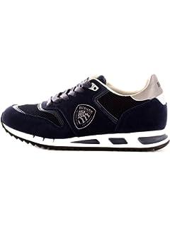 BLAUER SHOES 9FMEMPHIS06NUB Sneakers Uomo Grigio 46: Amazon