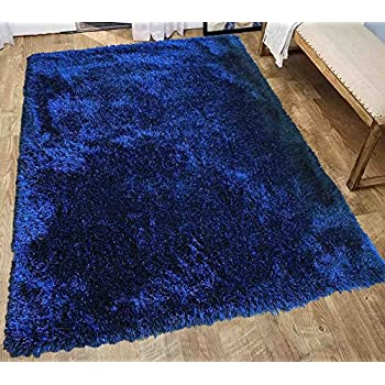 haiku royal rugs blue rug large area shag