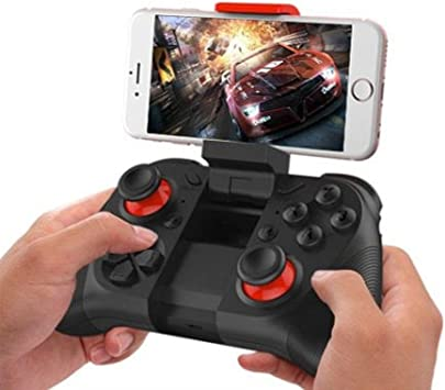 Mando a Distancia Joystick, Womdee Wireless Bluetooth Gamepad para Android Smartphone/Gear VR/Tablet/Smart TV/Game Boy Emulator, Compatible con Bluetooth: Amazon.es: Electrónica