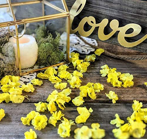Wedding Table Decor, Bridal Shower Decorations, Baby Shower Table Decor, Flower Confetti, Sweetheart Table Decor, Dessert Table, -