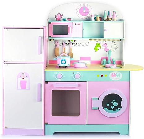yoptote Cocina Infantil Madera Grande Juguete de Cocina con ...