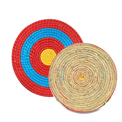 a39ad28a157 Image Unavailable. Image not available for. Color  Sports   Outdoor  Supplies - Outdoor Archery Shooting Sports Bow Straw Arrow Single Layer  Target for
