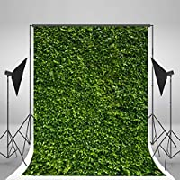 Kate 6.5x10FT Natural Green Grass Photography Backdrop Cotton No Wrinkles Washable Reused Wedding Children Birthday Photo Backdrops Backgrounds Studio Props