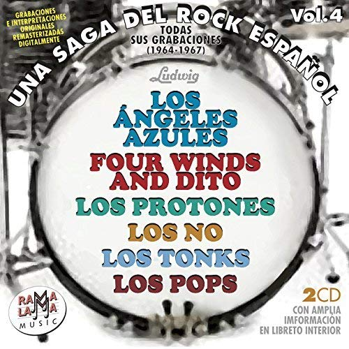 Una Saga Del Rock Español Vol.4