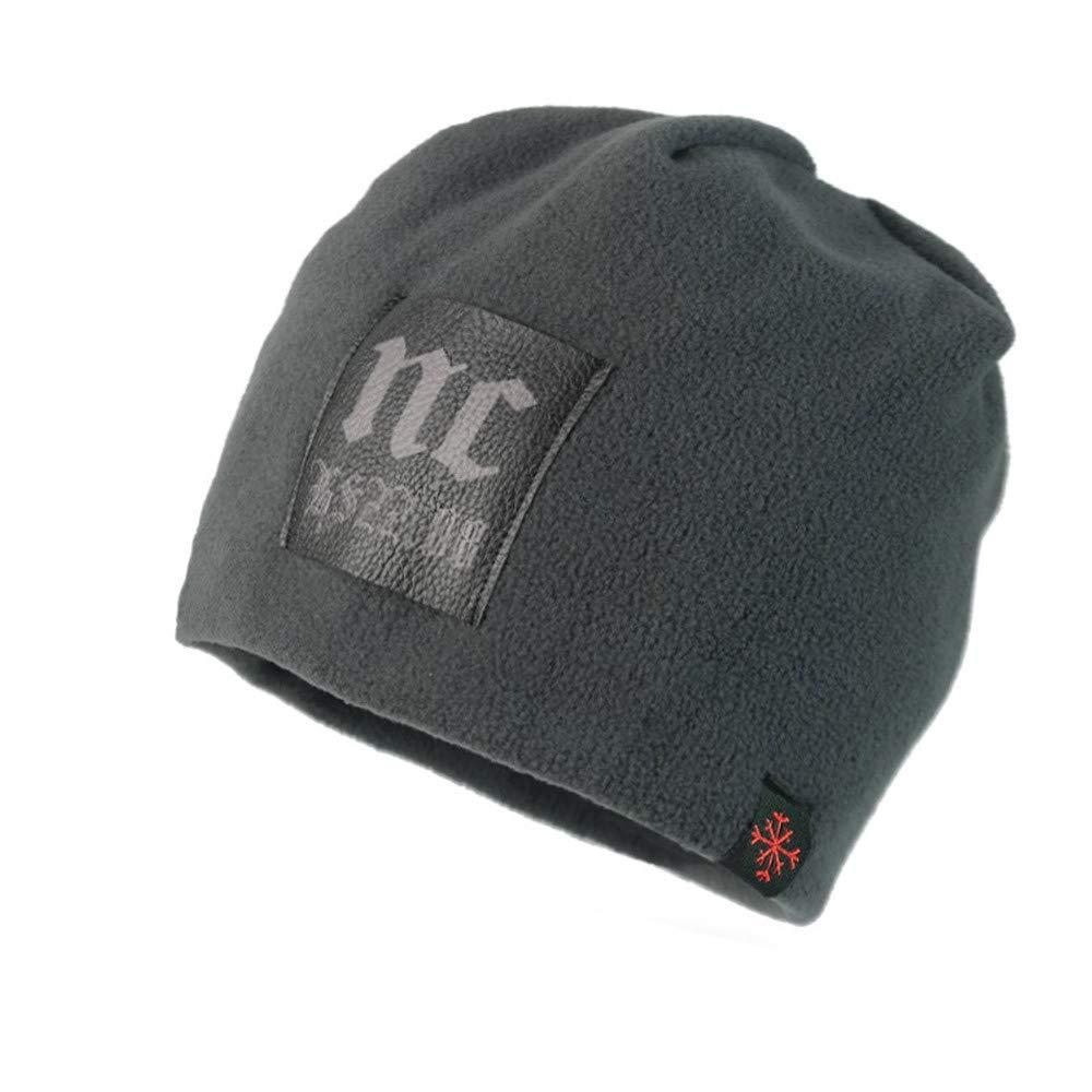 Hats for Men Women, Fashion Baggy Warm Crochet Winter Wool Knit Ski Beanie Hat Slouchy Skull Caps