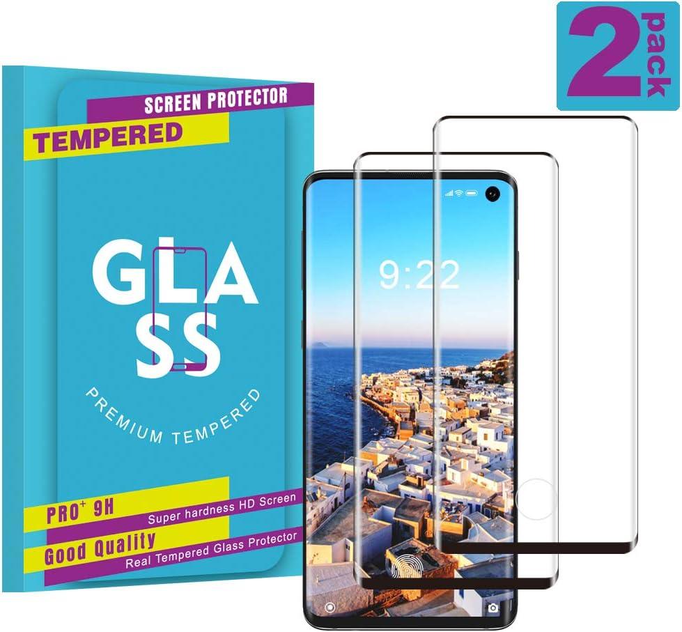 Film Protecteur en Verre tremp/é de Haute qualit/é pour Samsung Galaxy S10 Plus Duret/é 9H sans Bulles Galaxy S10 Plus Film Protection Ecran Verre Tremp/é, Ultra Claire 2 Pi/èces