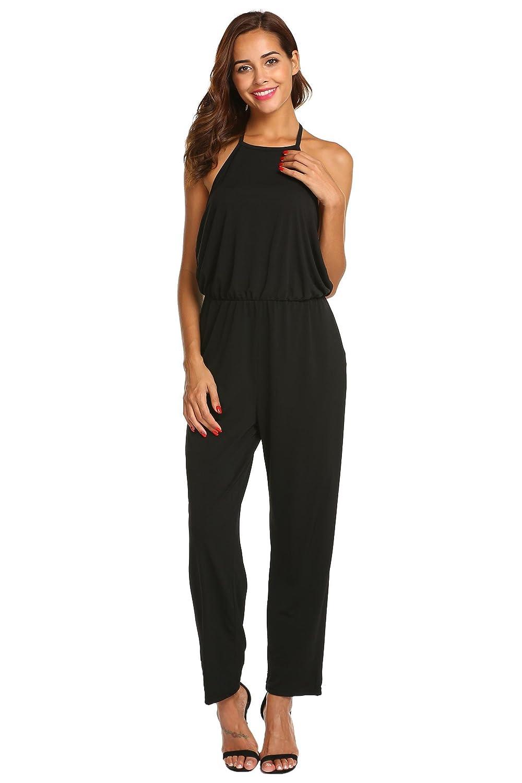 0ee1af020da Top 10 wholesale Black Full Length Jumpsuit - Chinabrands.com