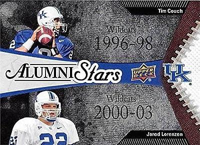 Tim Couch & Jared Lorenzen Football Card (Kentucky Wildcats) 2014 Upper Deck Conference Greats Alumni Stars #156