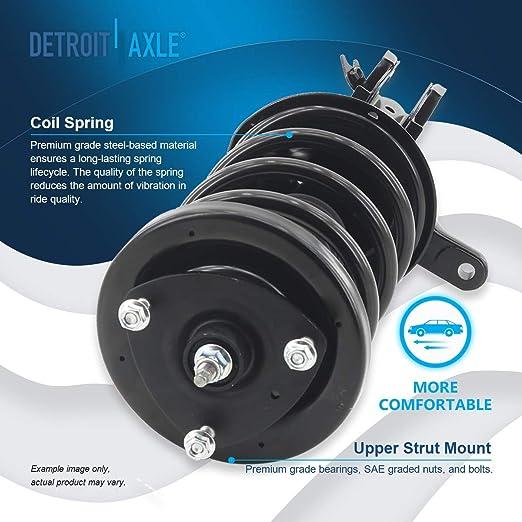 Detroit Axle Rear Driver /& Passenger Side Complete Strut /& Spring Assembly for 03-11 Honda Element