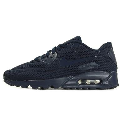 online retailer 9116d 5bfa7 Nike Air Max 90 Ultra BR, Chaussures de Sport Homme, Blau (Azul NVY ...