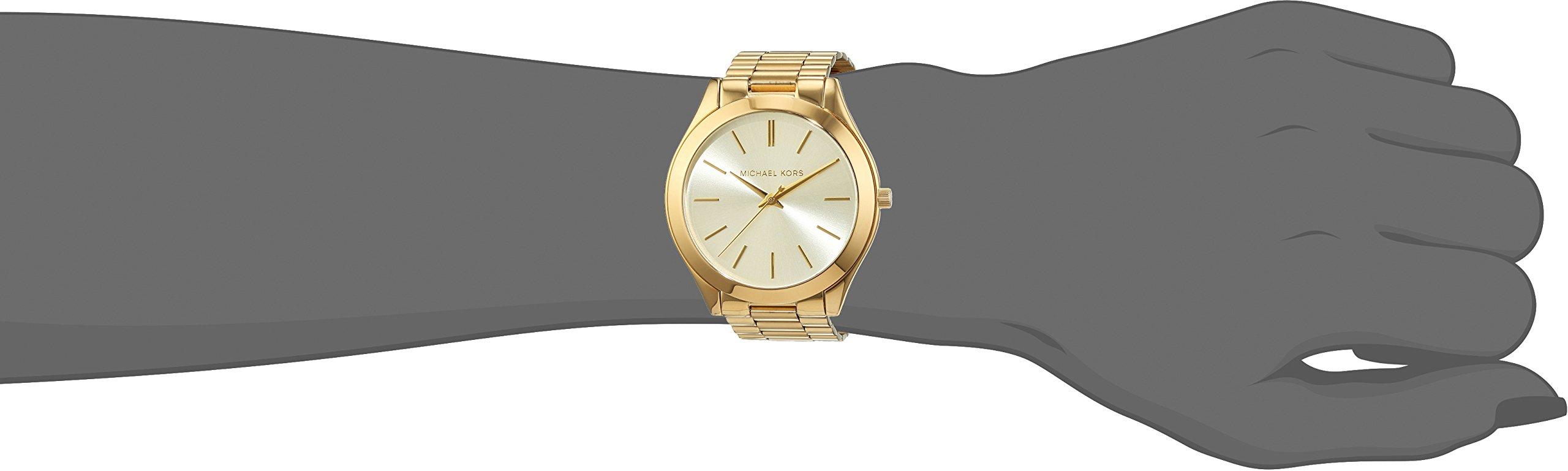4c17690a3040 Michael Kors Women s Runway Gold-Tone Watch MK3179