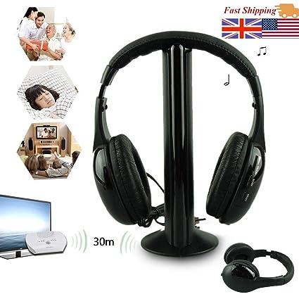 Amazoncom 5in1 Wireless Headphone Casque Audio Sans Fil Ecouteur
