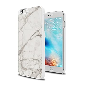 Snugg Funda iPhone 6 Plus / 6s Plus, Carcasa Anti-Impacto para Apple iPhone 6 Plus / 6s Plus [Mármol Genuino] Revestimiento de TPU, Diseño Ultrafina - ...