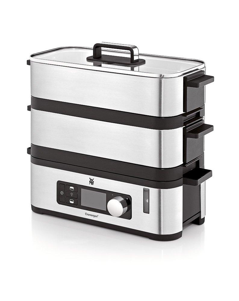 WMF Kitchenminis Vaporera 900 W de hasta 4.3 L y depósito de Agua de 1.1 L