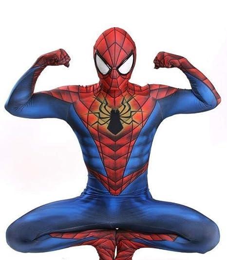 Los Vengadores Traje De Spiderman Adulto Cosplay Halloween ...