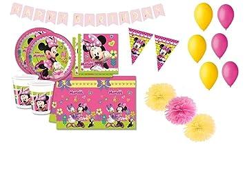 Decorata Party Minnie coordinó la Mesa de cumpleaños Kit 46f ...