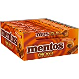 Mentos Choco Caramel - 9 Pieces per roll (Pack of 24 Rolls)