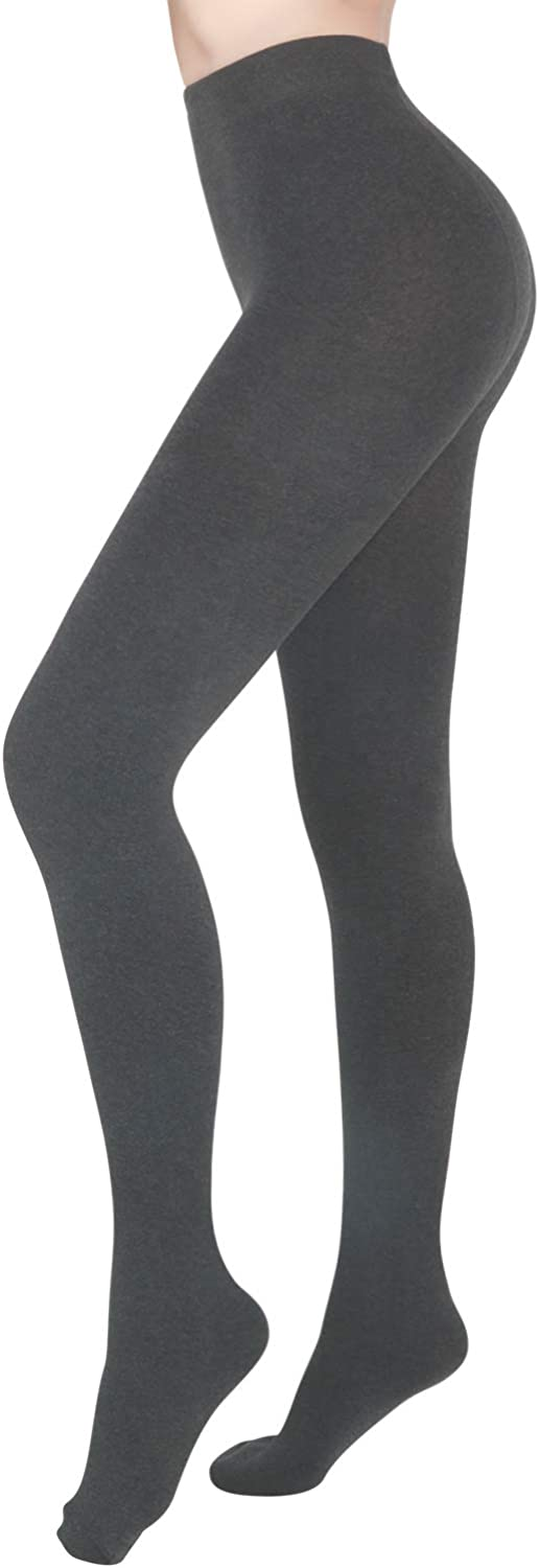 Pvendor Opaque Fleece Lined Tights For Women Winter Warm Thick Leggings Cotton Thermal Pantyhose Tights