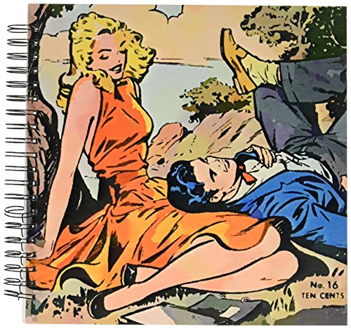 3dRose db_26062_2 Romantic Comic Book-Memory Book, 12 by 12-Inch