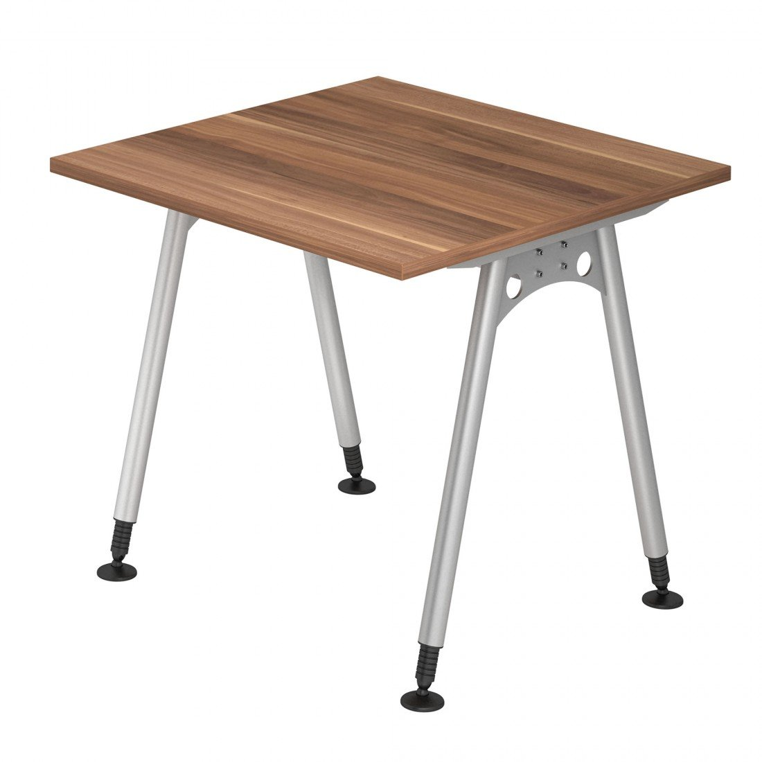 Dr de oficina escritorio 80 x 80 cm - Altura ajustable de 68 - 76 ...