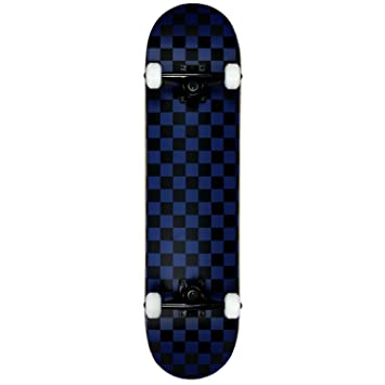 8a475c0a Krown KRRC-57 Rookie Checker Skateboard, Black/Blue, 7.75