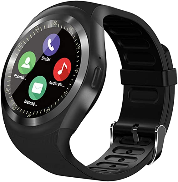 Amazon.com: SEPVER Smart Watch SN05 Round Bluetooth ...