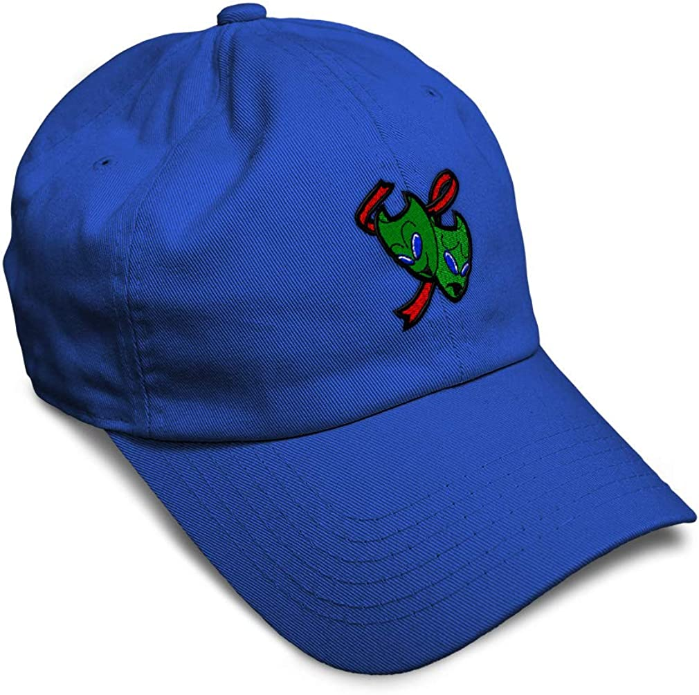 Custom Soft Baseball Cap Alien Theater Masks Embroidery Dad Hats for Men /& Women