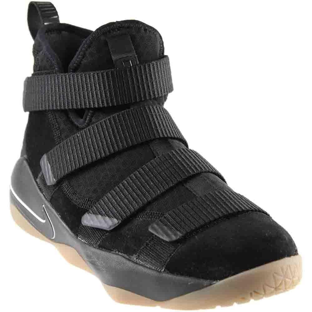 4dc601049385 Galleon - Nike Kids  Grade School Lebron Soldier XI Basketball Shoes (5.5